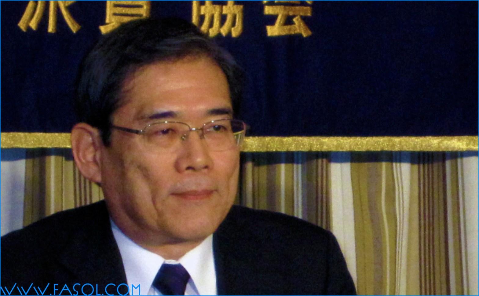 Professor Junichi Hamada, President of Tokyo University