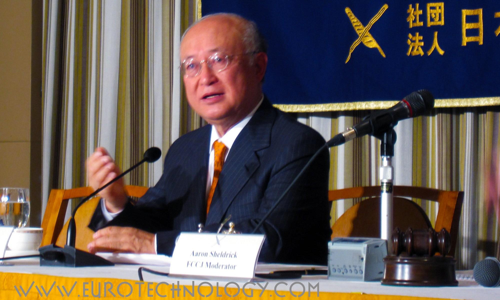 Mr Yukiya Amano (天野之弥), Director General of the International Atomic Energy Agency (IAEA)