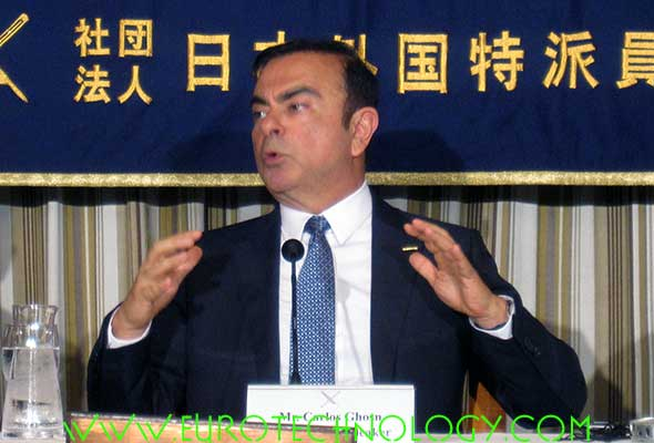 Carlos Ghosn, Chairman and CEO of Nissan, Renault, and the Renault-Nissan Alliance