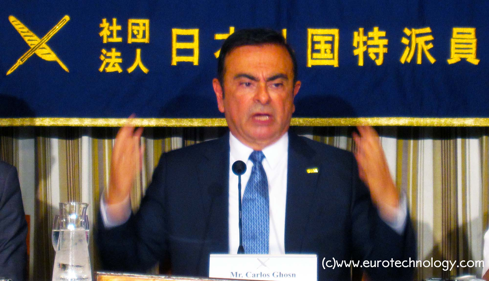 Carlos Ghosn: the four global socio-economic mega-trends reshaping the auto industry