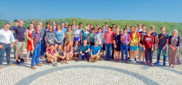 Cambridge University nanotechnology researchers and PhD students