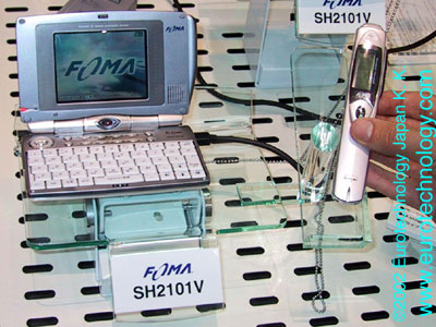 DoCoMo 3G prototype multi-media phone SH2101V