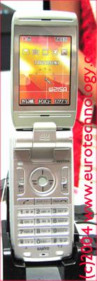 KDDI/AU 3G phone W21SA