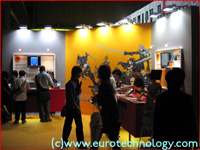 SquareEnix booth at the DoCoMo exhibit of Tokyo Game Show TGS2004