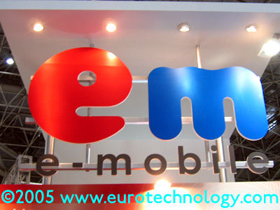 New entrant eMobile