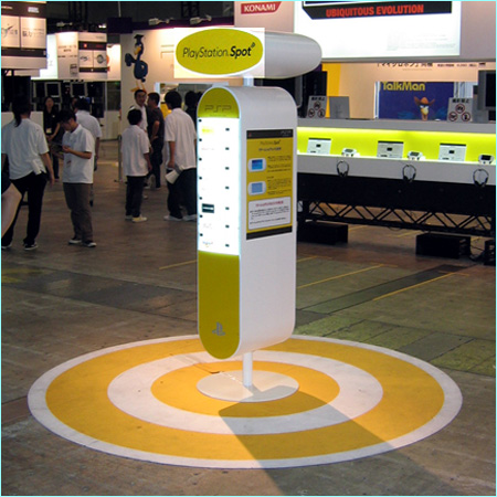 SONY Playstation WiFi spot at Tokyo Game Show 2005