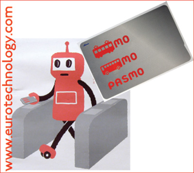 PASMO - near field smart card for fare payment in Tokyo region