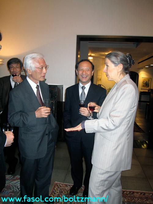 Reception by the Ambassador of Austria