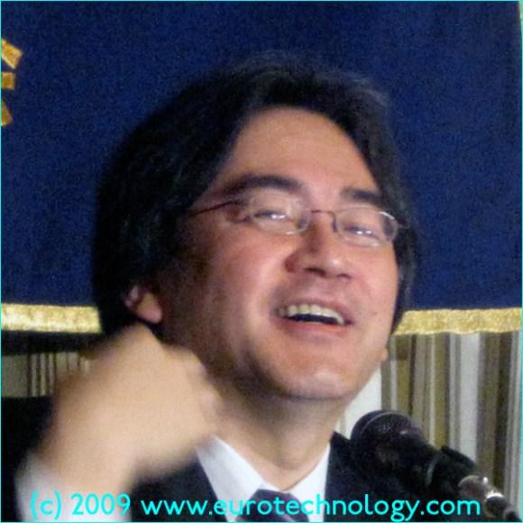 Nintendo CEO Satoru Iwata speaks with passion