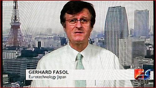 Gerhard Fasol on BBC TV about