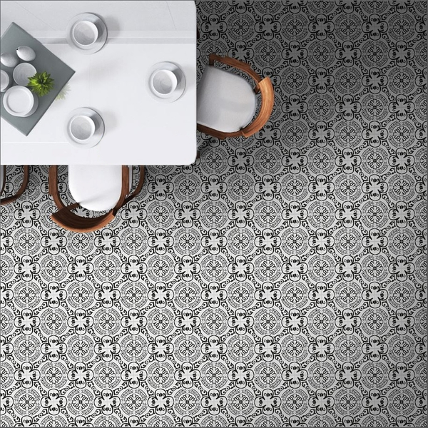 cignano decorative monochrome porcelain wall and floor tile 20x20cm