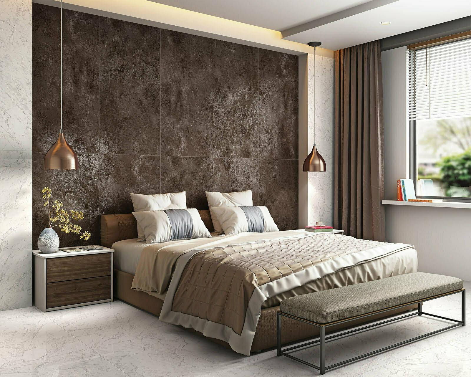 mars metallic large format metallic effect porcelain wall floor tile 60x120cm in 2 colours