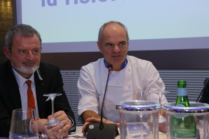 Nella foto, da sinistra: Alberto Lupini e Enrico Derflingher