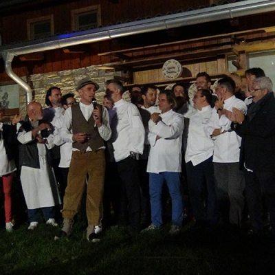 Si festeggia il Bitto a La Fiorida <br>Sinergia tra Euro-Toques e produttori