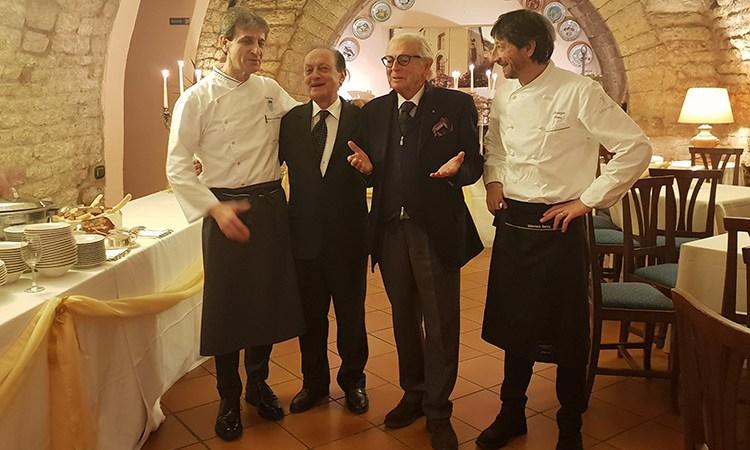 I fratelli Serva, special guests  ai 50 anni della Taverna del Lupo