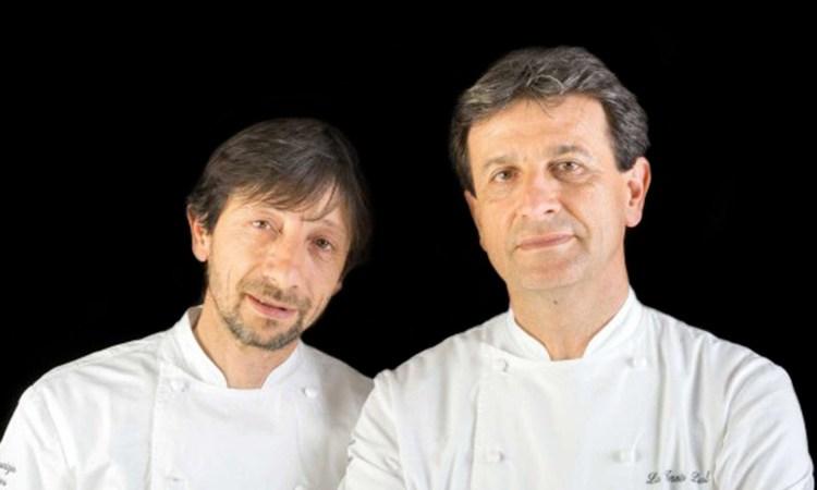 I fratelli Serva al Mirabelle di Roma Una serata ai fornelli con Stefano Marzetti