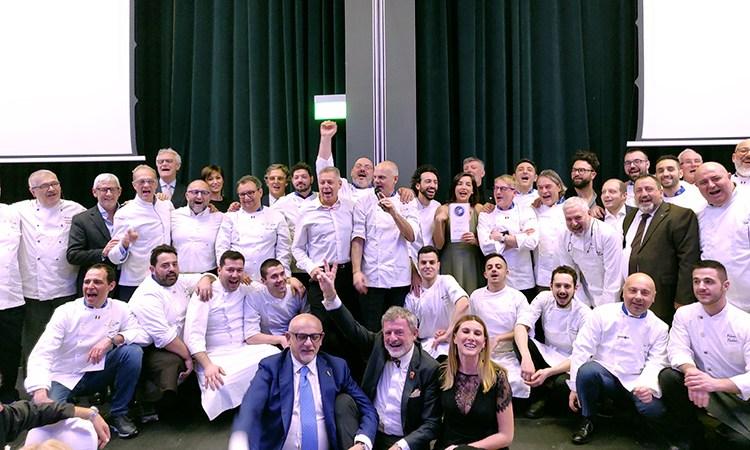 Euro-Toques, alta cucina in tavola per la cena di gala al Gallia di Milano