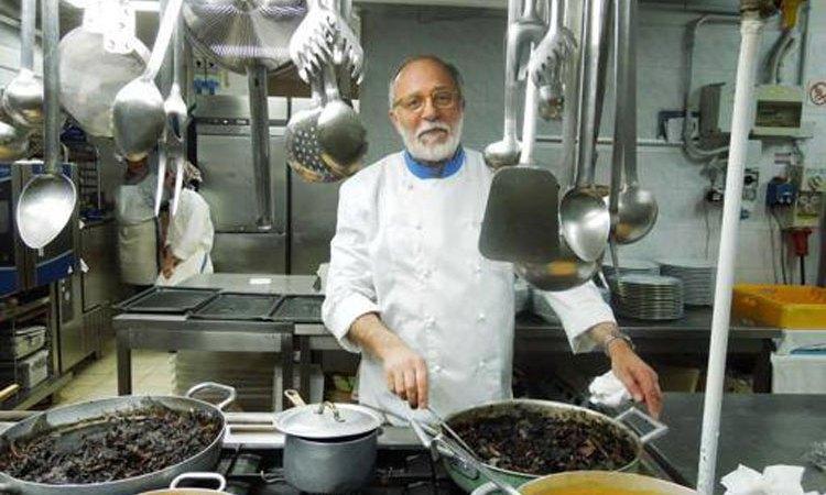 È morto lo chef Luciano Zazzeri titolare de La Pineta di Marina di Bibbona
