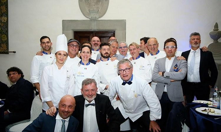 Euro-Toques dà spazio ai giovani Cena di gala firmata dai soci under 35