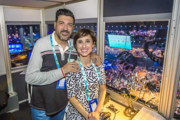 Tony Aguilar and Julia Varela