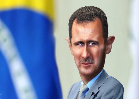 Bashar al-Assad Caricature by DonkeyHotey https://flic.kr/p/dFssBj