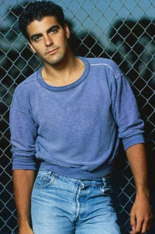 Wow, George Clooney! I'd forgotten about this fine young man!