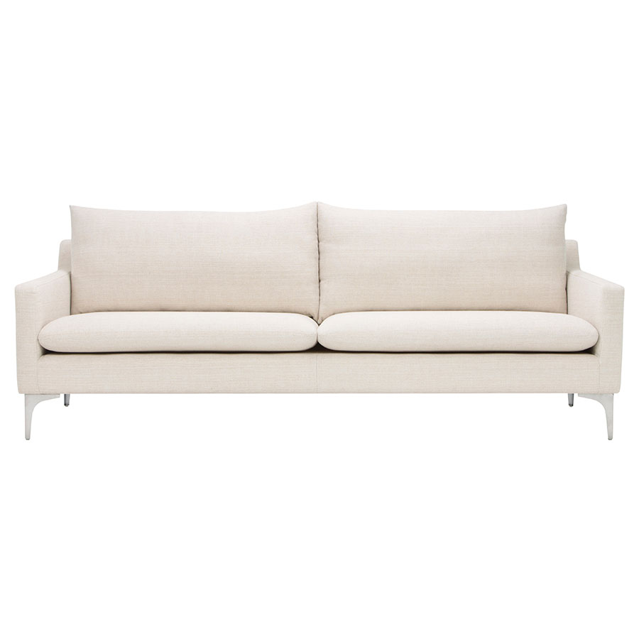 andre sofa slot together sand fabric modern eurway furniture