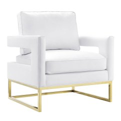 White And Gold Chair Hickory Sleeper Sofas Austria Bonded Leather Eurway