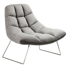 Contemporary Lounge Chairs Silver Chair Sashes Modern Accent Burlington Light Gray Eurway