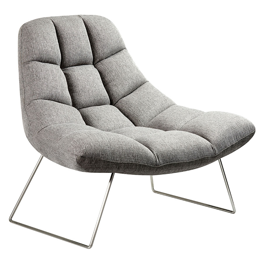 contemporary lounge chairs church for sale modern accent burlington light gray chair eurway
