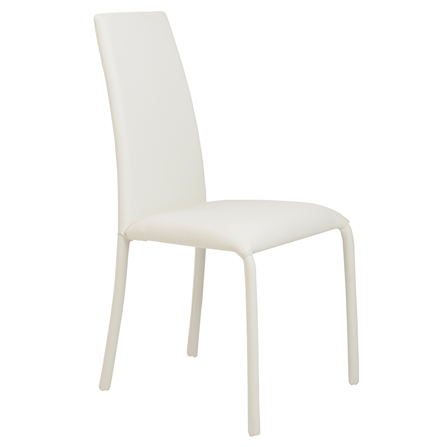 white plastic dining chairs comfy for dorms camille modern chair eurway furniture