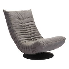 Swivel Lounge Chairs The Chair Shop Down Gray Low Modern By Zuo Eurway