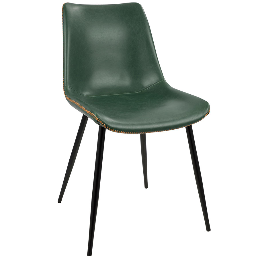 modern green dining chairs chair leg covers to protect floor donovan eurway