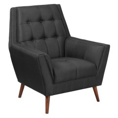 Contemporary Lounge Chairs Chair Slip Covers Bed Bath And Beyond Modern Hostetler Black Eurway