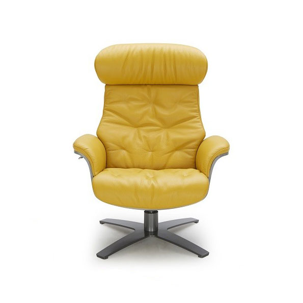 office chair ottoman positive posture massage reviews keller mustard leather lounge eurway 3 product images