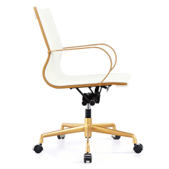 Office Chair Gold Ikea Wooden High Malone White Modern Eurway 4 Product Images
