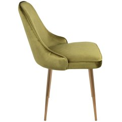 Gold Dining Chairs Child Sized Table And Modern Side Malta Green Chair Eurway 4 Product Images