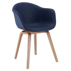 Modern Leather Dining Chairs With Arms Folding Chair Lazada Marfa Blue Arm Eurway