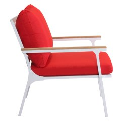 Red Lounge Chair Cover Hire Gosport Matthew Modern Outdoor Eurway 5 Product Images
