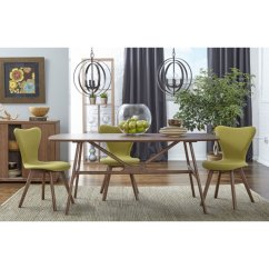 Modern Green Dining Chairs Floral Arm Chair Sanne Side Eurway Set Of 2