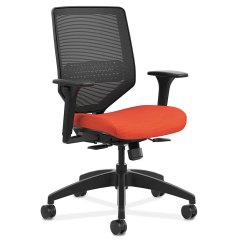 Mesh Back Chairs For Office Vivere Dream Chair Saturn In Orange Eurway