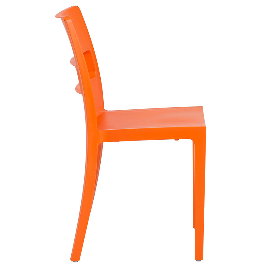 orange side chair rolling office for hardwood floors shannon modern dining eurway furniture view