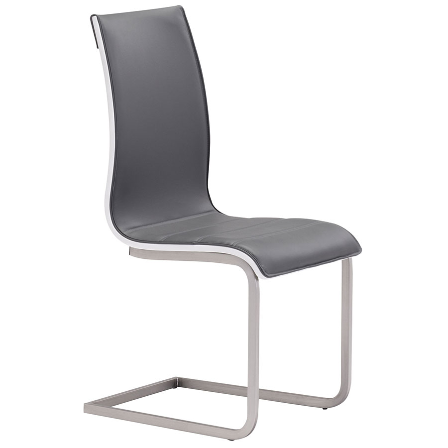 modern gray dining chairs uline folding chair cart talley eurway furniture