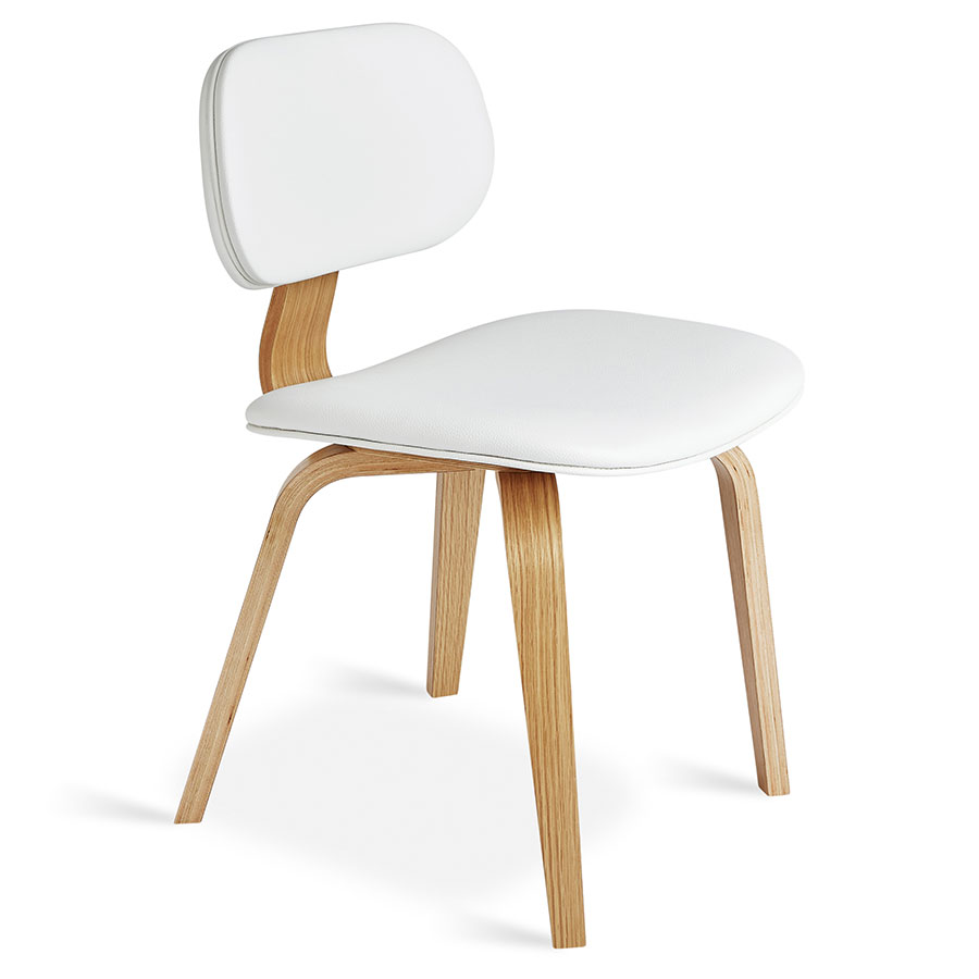 oak and white dining chairs chair covers for incontinence gus modern thompson natural eurway