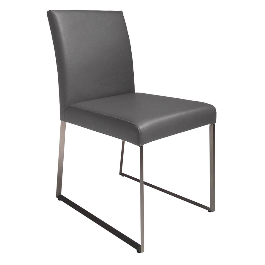 modern gray dining chairs lane leather reclining chair and ottoman tobias eurway furniture
