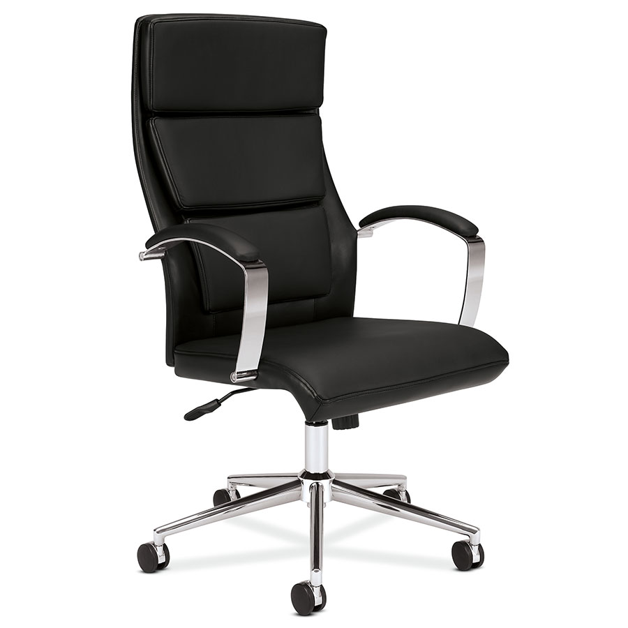office chair leather patio furniture swivel rocking chairs victory black modern eurway