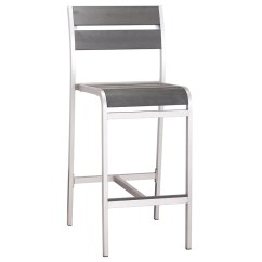 Outdoor Bar Chairs Aluminum Chair Webbing Marwa Modern Stool By Zuo Eurway