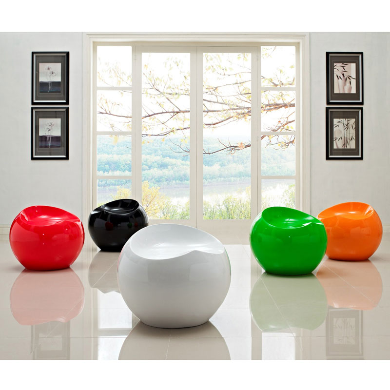 modern ball lounge chair rocking porch chairs bop eurway furniture