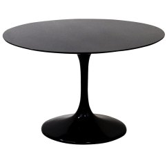 Round Black Kitchen Table Old Fashioned Faucets Odyssey Modern 40 Dining Eurway