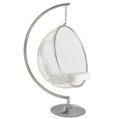 Hanging Chair Clear Zeus Thunder Ultimate Gaming Systems Scoop With Stand Eurway Modern Furniture